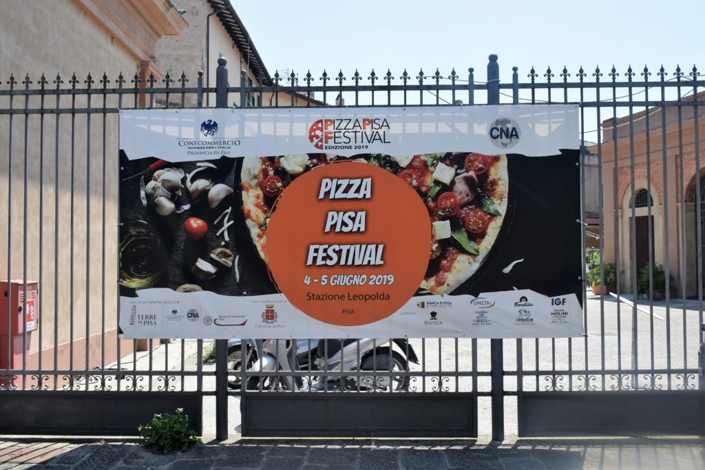 Pizza Pisa Festival alla Stazione Leopolda