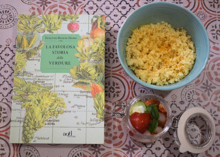 La favolosa storia delle verdure abbinato a couscous con verdure in vasocottura