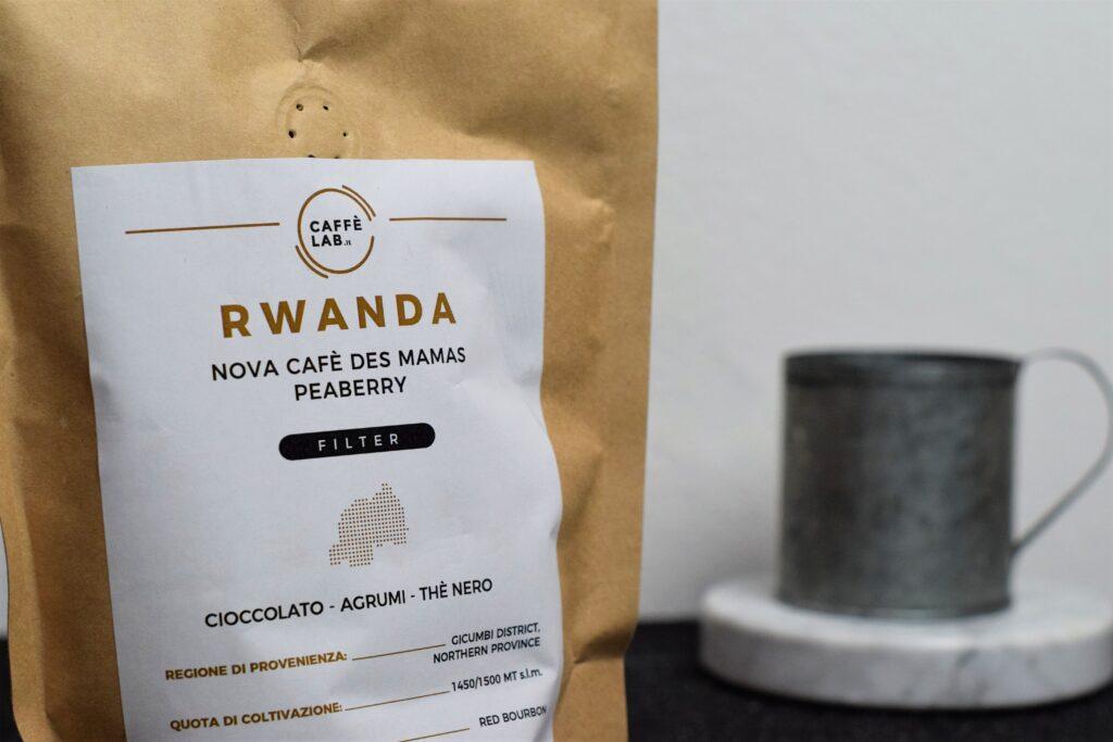 Rwanda nova cafè des mamas peaberry